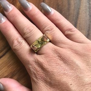 House of Harlow Spike Ring